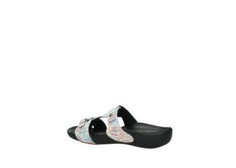 wolky slippers 01000 oconnor 70980 wit multi color canal leer_3