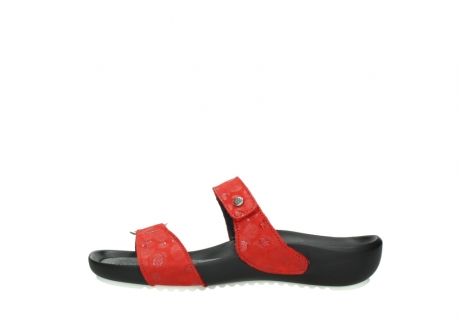 wolky slippers 01001 ohara 12500 rood nubuck_1