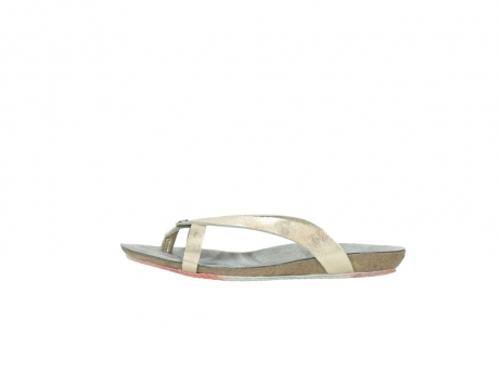 wolky slippers 01025 sunshine 30140 goud leer_1