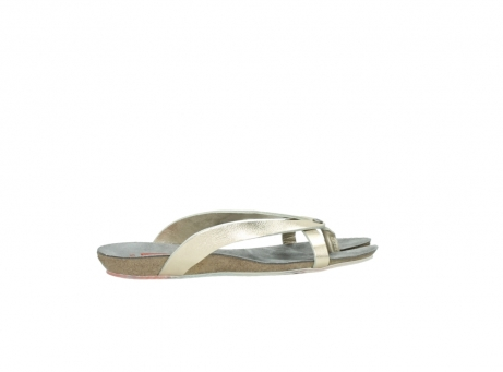 wolky slippers 01025 sunshine 30140 goud leer_12