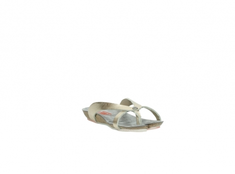 wolky slippers 01025 sunshine 30140 goud leer_17