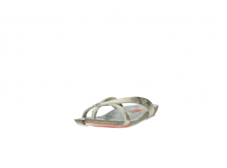 wolky slippers 01025 sunshine 30140 goud leer_21