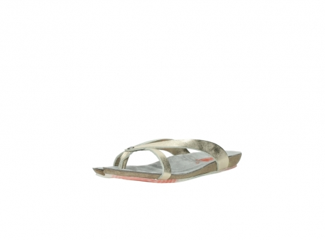 wolky slippers 01025 sunshine 30140 goud leer_22