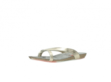 wolky slippers 01025 sunshine 30140 goud leer_23