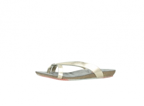 wolky slippers 01025 sunshine 30140 goud leer_24