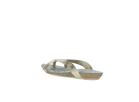 wolky slippers 01025 sunshine 30140 goud leer_4