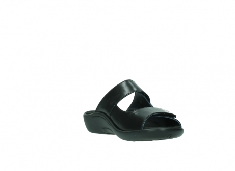 wolky slippers 01301 nepeta 30000 black leather_17