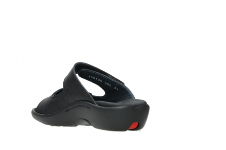 wolky slippers 01301 nepeta 30000 black leather_5