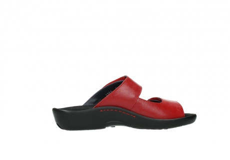wolky slippers 01301 nepeta 30500 rood leer_12