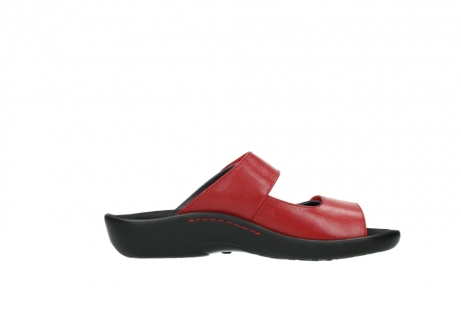wolky slippers 01301 nepeta 30500 rood leer_13