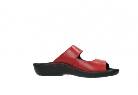 wolky slippers 01301 nepeta 30500 rood leer_14