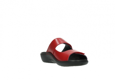 wolky slippers 01301 nepeta 30500 rood leer_17