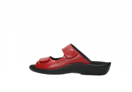 wolky slippers 01301 nepeta 30500 rood leer_2