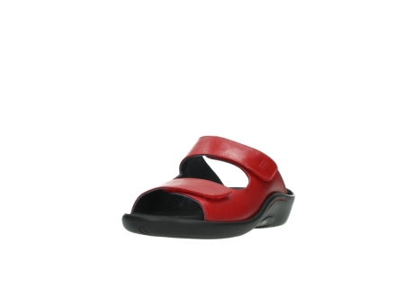 wolky slippers 01301 nepeta 30500 rood leer_21