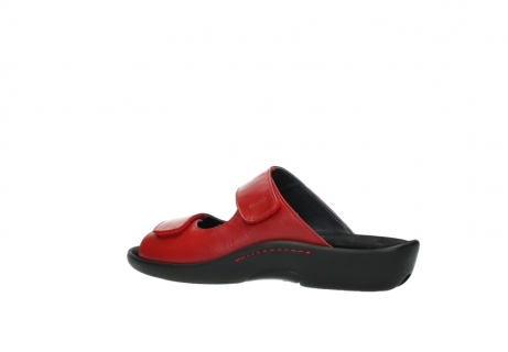 wolky slippers 01301 nepeta 30500 rood leer_3