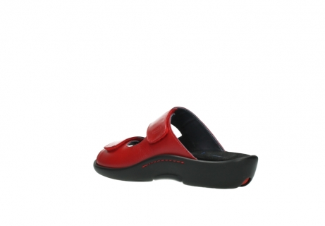 wolky slippers 01301 nepeta 30500 rood leer_4