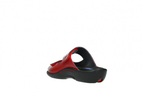 wolky slippers 01301 nepeta 30500 rood leer_5