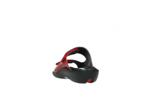 wolky slippers 01301 nepeta 30500 rood leer_6