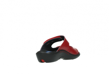 wolky slippers 01301 nepeta 30500 rood leer_9
