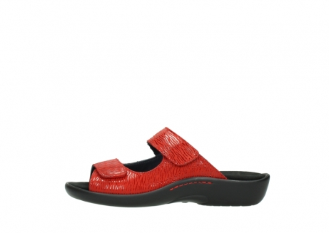 wolky slippers 01301 nepeta 70500 rood nubuck_1