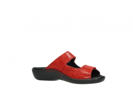 wolky slippers 01301 nepeta 70500 rood nubuck_15