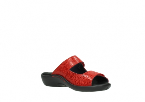 wolky slippers 01301 nepeta 70500 rood nubuck_16