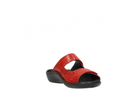 wolky slippers 01301 nepeta 70500 rood nubuck_17