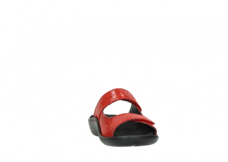 wolky slippers 01301 nepeta 70500 rood nubuck_18
