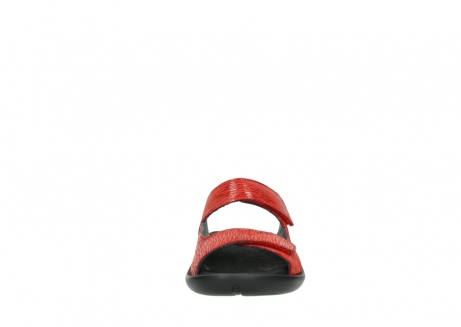 wolky slippers 01301 nepeta 70500 rood nubuck_19