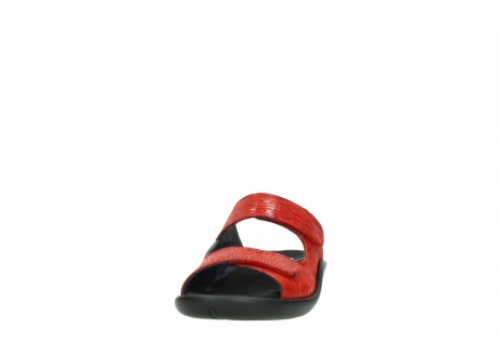 wolky slippers 01301 nepeta 70500 rood nubuck_20