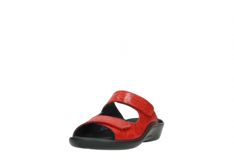 wolky slippers 01301 nepeta 70500 rood nubuck_21