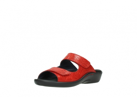 wolky slippers 01301 nepeta 70500 rood nubuck_22