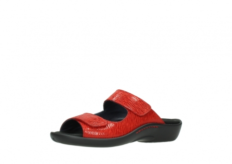 wolky slippers 01301 nepeta 70500 rood nubuck_23