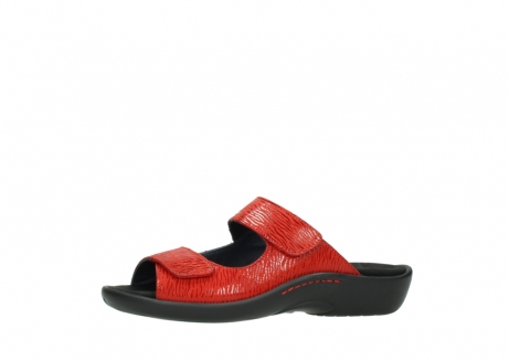 wolky slippers 01301 nepeta 70500 rood nubuck_24