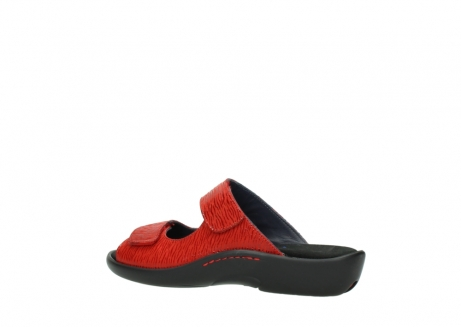 wolky slippers 01301 nepeta 70500 rood nubuck_3