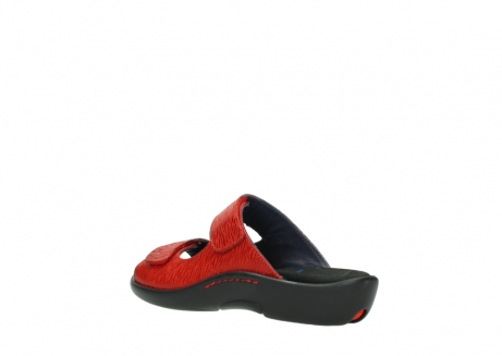 wolky slippers 01301 nepeta 70500 rood nubuck_4