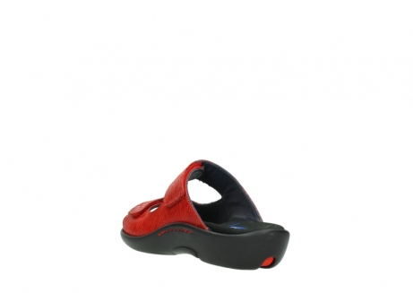 wolky slippers 01301 nepeta 70500 rood nubuck_5