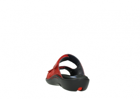 wolky slippers 01301 nepeta 70500 rood nubuck_6