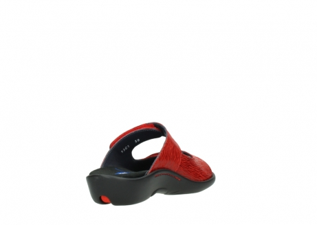 wolky slippers 01301 nepeta 70500 rood nubuck_9