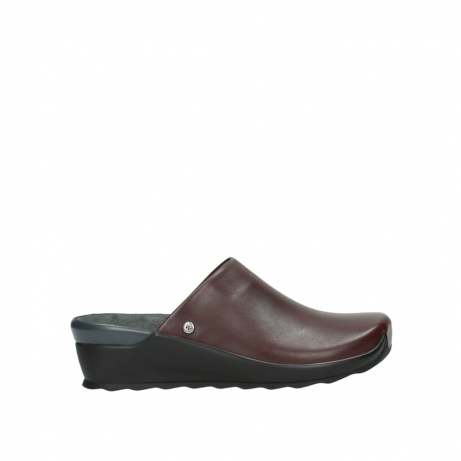 wolky slippers 02575 go 20510 bordeaux leer