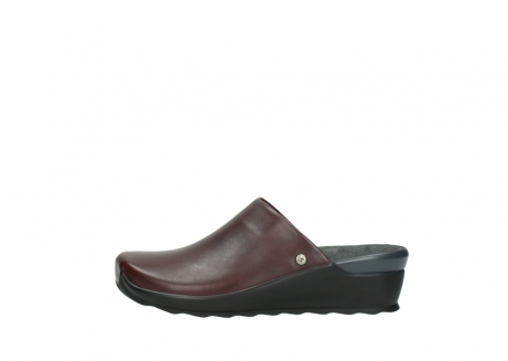 wolky slippers 02575 go 20510 bordeaux leer_1