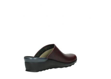 wolky slippers 02575 go 20510 bordeaux leer_10