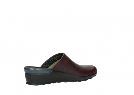 wolky slippers 02575 go 20510 bordeaux leer_11
