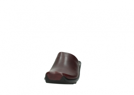 wolky slippers 02575 go 20510 bordeaux leer_20
