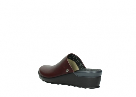 wolky slippers 02575 go 20510 bordeaux leer_4