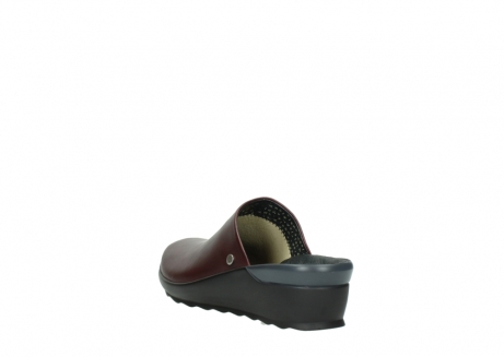wolky slippers 02575 go 20510 bordeaux leer_5