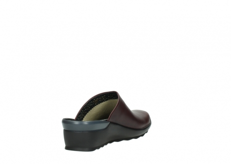 wolky slippers 02575 go 20510 bordeaux leer_9