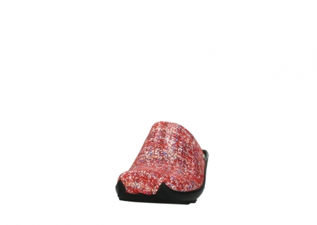 wolky slippers 02575 go 40950 rood multi suede_20