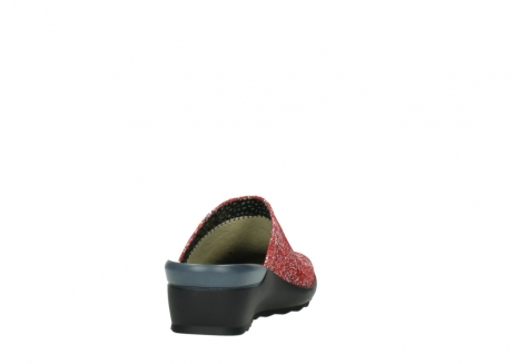 wolky slippers 02575 go 40950 rood multi suede_8
