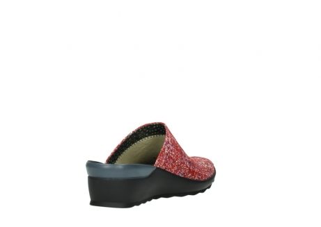 wolky slippers 02575 go 40950 rood multi suede_9